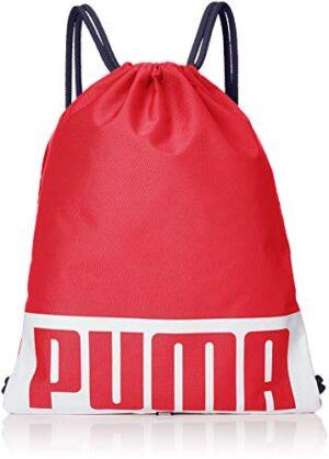 Puma Deck Gym Sack Sports Bag Unisex Adulto Ribbon Red Osfa 0
