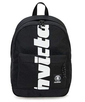 Zaino Invicta Carlson New Way Logo Nero Tasca Porta Pc Padded Americano 27 Lt 0