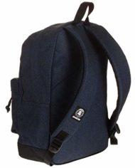 Zaino Invicta Perky Pack Blu Denim 27 Lt Tasca Porta Pc Scuola E Tempo Libero Americano 0 0