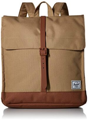 Herschel City Mid Volume Kelp Saddle Brown Zaino 10486 02455 Os 0