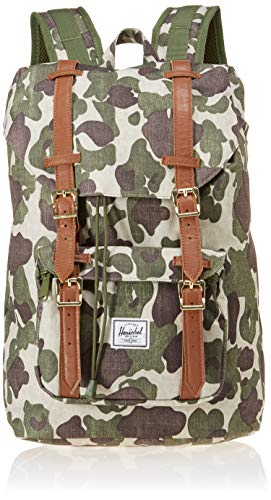 Herschel Little America Mid Volume Backpack Frog Camotan 0