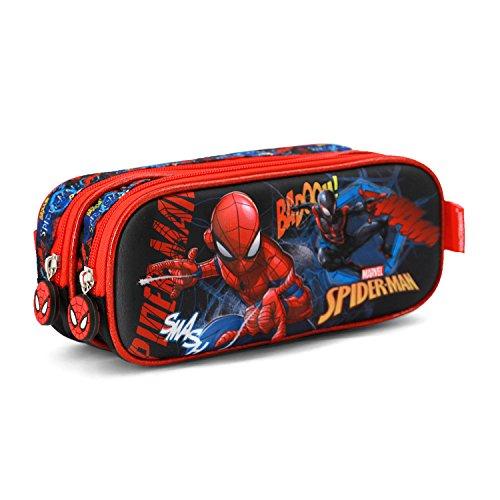 Spiderman Smash 3d Doppelfedermppchen Astuccio Blu Poliestere 0