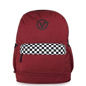 Vans Sporty Realm Plus Backpack Biking Red Vn0a3pbitv11 0