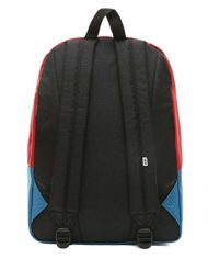 Vans Realm Backpack Blue Sapphiretango Red 0 0