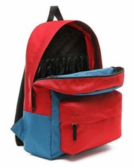 Vans Realm Backpack Blue Sapphiretango Red 0 1