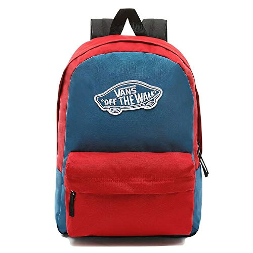 Vans Realm Backpack Blue Sapphiretango Red 0