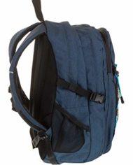 Zaino Invicta Active Benin Eco Material Blu 25 Lt Doppio Scomparto Tasca Porta Laptop Fino 13 Scuola Outdoor 0 2