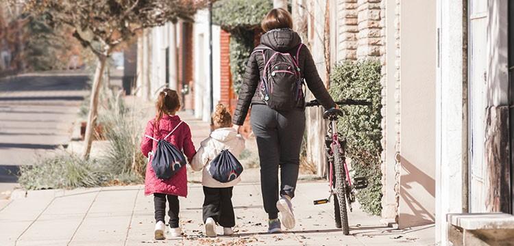 Zaino Bici Genitori Bambini Scuola
