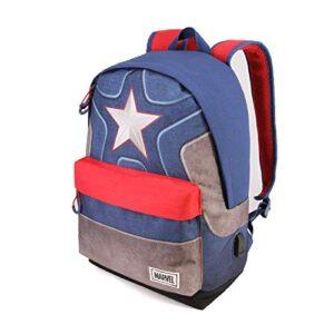 Karactermania Captain America Suit Hs Rucksack Zaino Casual 42 Cm 23 Liters Multicolore Multicolour 0