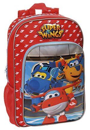 Super Wings Zainetto 38 Cm 1129 Liters Multicolore 0