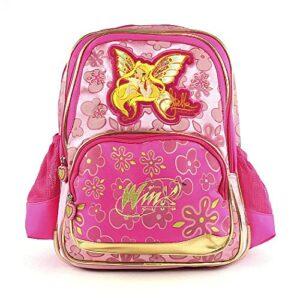 Target Winx Club Stella Gold Enchantix Backpack Zaino 41 Cm Rosa Pink 0