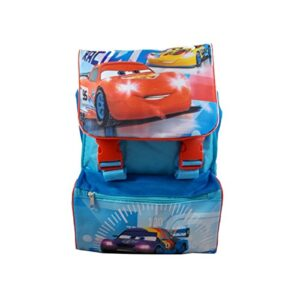 Zaino Estensibile Borsa Scuola Elementare Cars Disney Cm 40x26x27 Wd16165 0