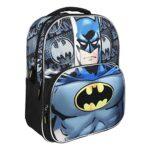 Artesania Cerda Mochila Escolar 3d Batman Zaino 41 Cm Grigio Gris 0