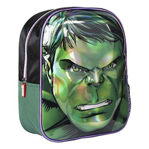 Artesania Cerda Mochila Infantil 3d Avengers Iron Man Zainetto Per Bambini 31 Cm Verde 0