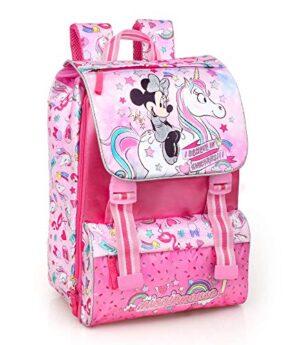 Disney Minnie Unicorno 36212 Zaino Da Scuola Estensibile Poliestere Multicolore 0