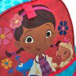 Disney Store Zaino Originale Dottoressa Peluche Dottie 40cm Scuola Elementare Bambina 0 1
