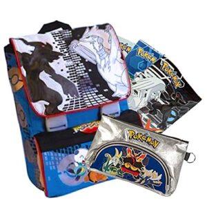 Giochi Preziosi Schoolpack Pokmon Zaino Bustina 3 Maxi Quaderni Omaggio 0