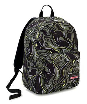 Ischoolpack Seven Wildy Boy 27 Lt Verde Tasca Porta Laptop 15 Con Power Bank Scuola Tempo Libero 0