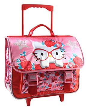 Jacob Co Trolley Schoolbag Hello Kitty Zaino Bambini 41 Cm Rosa Rosa Hk804417 0