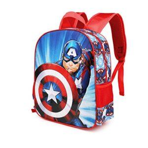 Karactermania Captain America First Zaino 3d Piccolo Multicolour Small 0