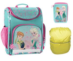 Scoolstar Frozen Set 3t Small Set Per La Scuola Bambini Trkis Rosa Bunt Frozen 4teilig 0