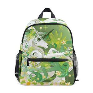 Sacchetto Di Scuola Materna Per Bambini Di Primavera Unicorno Zaino Zaino Per Ragazzi Delle Ragazze Del Bambino 0