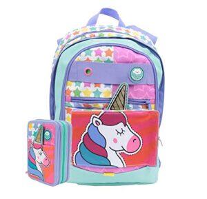 Schoolpack Zaino Gopop Unicorno Dreamer 5 In 1 Astuccio Completo Gadget 0