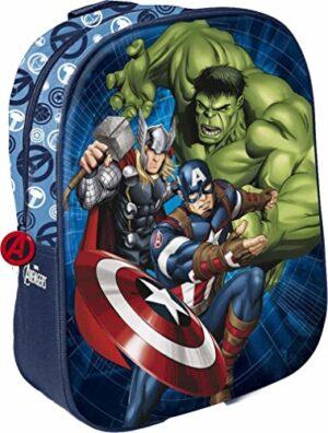Star Licensing Disney Avengers Zainetto Per Bambini 31 Cm Multicolore 0
