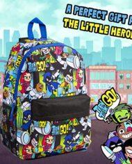 Teen Titans Go Zaino Bambina Zaini Scuola Elementare O Media Bambini Borsa Grande Capacit Per Viaggio Idea Regali Per Ragazzi Di 5 12 Anni Maschio O Femmina 0 2