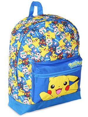Zaino Pokemon Scuola Elementare Scuola Media Maschio Grande Zaino Con Pikachu Litten Rowlet E Popplio Cartella Per Bambini Adolescenti Ragazzi Zainetto Da Viaggio 0