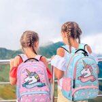 Zaino Ragazza Zaino Unicorno Bambina Zaini Scolastico Elementari Bambini Girls Backpack Set Per La Scuola Borsa Per Ragazze Zainetto 0 0