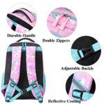 Zaino Ragazza Zaino Unicorno Bambina Zaini Scolastico Elementari Bambini Girls Backpack Set Per La Scuola Borsa Per Ragazze Zainetto 0 3