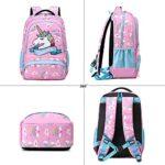 Zaino Ragazza Zaino Unicorno Bambina Zaini Scolastico Elementari Bambini Girls Backpack Set Per La Scuola Borsa Per Ragazze Zainetto 0 5