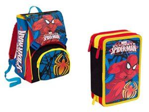 Seven Spa Zaino Scuola Estensibile Spiderman Con Astuccio Seven 0
