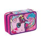 Schoolpack Animali Da Sj Girl Zaino Sdoppiabile Astuccio 3 Zip 0 4