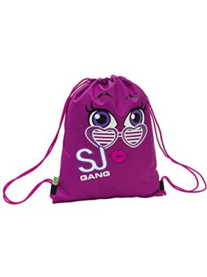 Soft Backpack Seven Sj Faccine Rosa Sacca 0