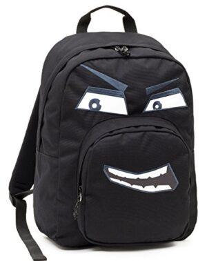 Zaino Invicta Ollie Pack Face Nero Evil Tasca Porta Pc Padded Scuola E Tempo Libero Americano 25 Lt 0