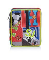 Astuccio Maxi 2 Zip Sj Gang College E Sport Multicolore 0 3
