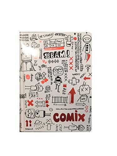 Diario Agenda Comix Special Bianco 20202021 Datata 16 Mesi Standard 18x13 Cm Penna Colorata Omaggio 0
