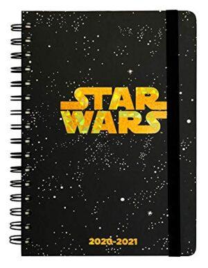 Diario Scuola Settimanale 20202021 Star Wars Logo 12 Mesi A5 Spazi Extra Per La Pianificazione Adesivi Stickers 0