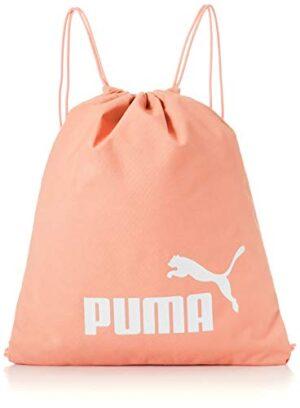 Pumhbpuma Puma Phase Gym Sack Sacca Sportiva Unisex Adulto Apricot Blush Osfa 0