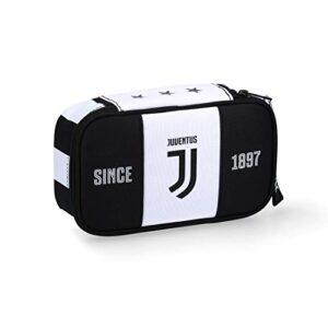 Astuccio Juventus Quick Case Una Cerniera Completo Bianco E Nero Prodotto Ufficiale 0
