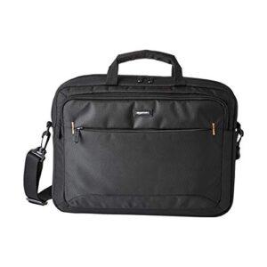 Amazon Basics Borsa Compatta Per Computer Portatile Con Tasche Per Accessori 156 Pollici 40 Cm Nera Confezione Da 1 0