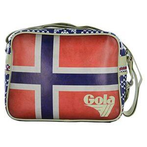 Borsa Gola Redford Nordic Red Blue Cream 0