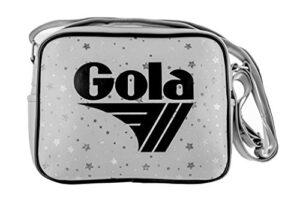 Gola Borsa Micro Redford Constellation Tracolla Ragazza 23x18 Cm Pale Greysilverblack 0