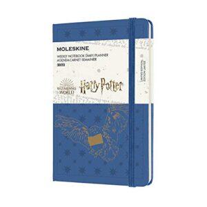 Moleskine Harry Potter Civetta Agenda Settimanale 12 Mesi 2022 Con Copertina Rigida Formato Pocket 9x14 Cm Colore Blu Anversa 0