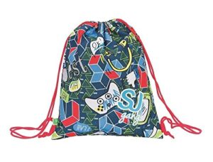 Zaino Zainetto Sj Gang Sacca Morbida Sakky Bag Boy Seven Scuola 201920 Modelli Assortiti 0