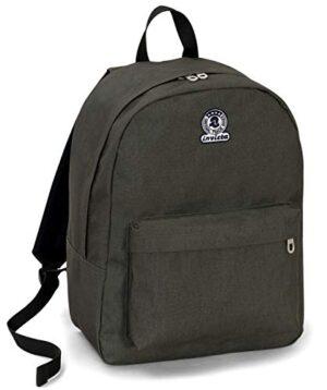 Zaino Invicta Benin S Eco Material Verde 25 Lt Tasca Porta Laptop Fino 13 Scuola Tempo Libero 0