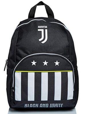 Zaino Small Juventus Best Match Bianco E Nero Scuola Materna Tempo Libero 0