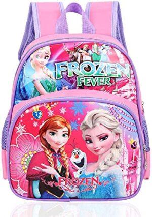 Frozen Zaino Scuola Elementare Bambina Frozen Zainetto Medio Per Bambini Con Principessa Elsa Scuola Materna Con Stampa Frozen Compleanno Bimba 3 Anni In Su 0